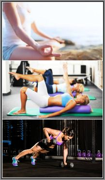 Yoga vs Pilates vs Crossfit